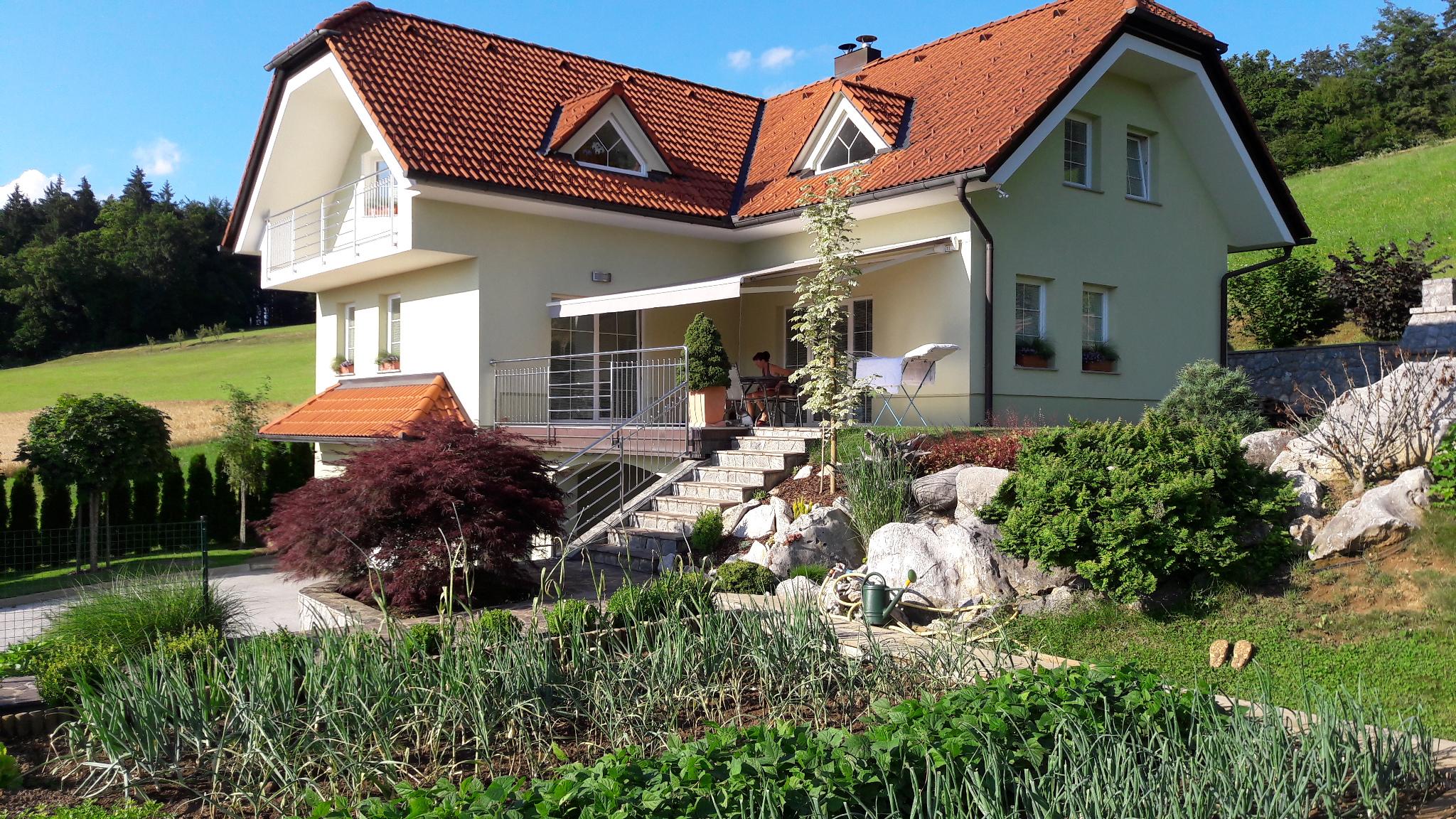 Urejena hiša